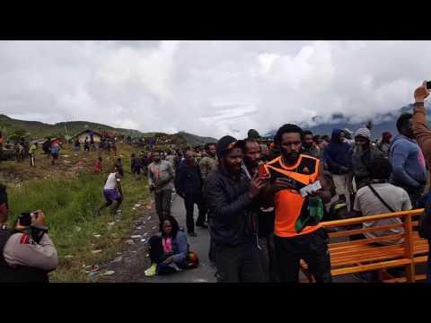 Vlog 3 Pam Pasca Pencoblosan Pilkada Kab.Puncak Jaya