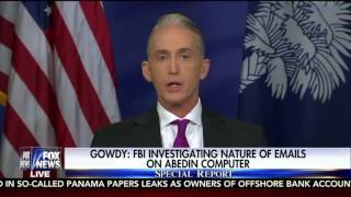 Trey Gowdy says Hillary Clinton is Guilty and Harry Reid is on DRUGS!