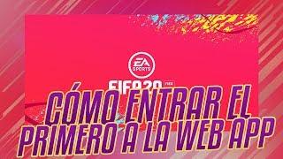 FIFA 20 || COMO ENTRAR EL PRIMERO EN LA WEBAPP DE FIFA 20 ULTIMATE TEAM
