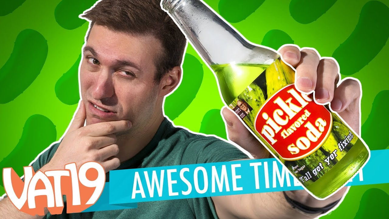 Pickle Soda, Golden Gummy Challenge & BIG giveaway? | A.T. #141