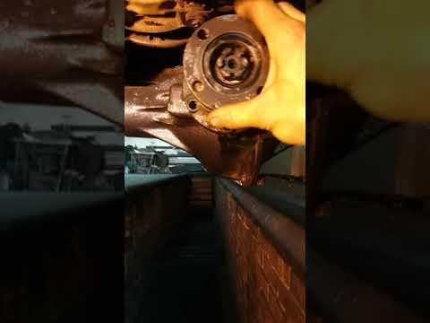 Убираем люфт хвостовика переднего моста УАЗ фермер