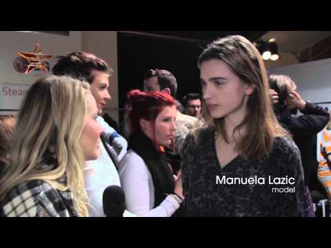 Backstage CHRISTOPHER RAEBURN London Fashion Week Autumn Winter 2014 15 36649 NMNB mp4