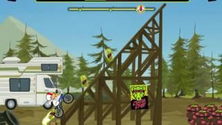 Игра Кик Бутовский Сорвиголова: Трюки на Велосипеде