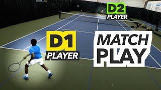 NTRP 5.0 vs 5.5 Tennis Match Highlights