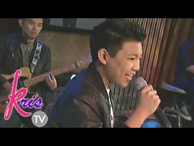 "Kris TV: Darren sings ""Black or White"""