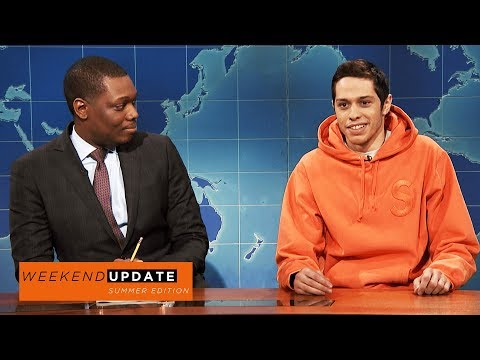 Weekend Update: Pete Davidson on Colin Kaepernick  SNL