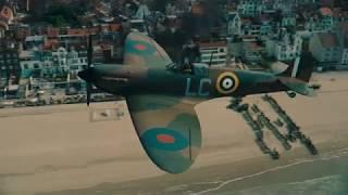 Dunkirk (IMAX) - Fortis 1 runs out over Dunkirk beach