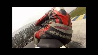 Kawasaki KLX125 / D-tracker 125 2011 / 2012 with Racing Spec full system exhaust by GoPro Hero2