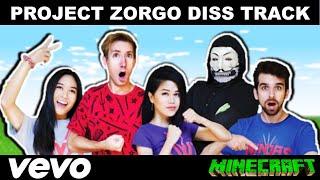 Chad Wild Clay Project Zorgo Diss Track Music Video in Minecraft! Vy Qwaint, Daniel,Regina & PZ9 CWC