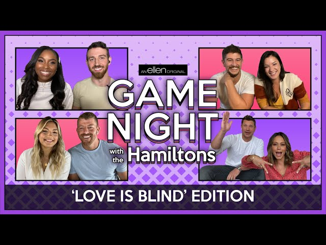 'Game Night with the Hamiltons'\: It\'s a 'Love Is Blind' Reunion full of \'90s Nostalgia