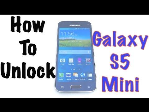 unlock samsung galaxy s5 mini free