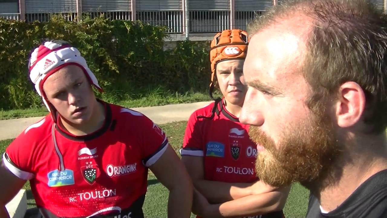 rugby cadets gaudermen rct toulon vs azur 06 match r u00e9sum u00e9
