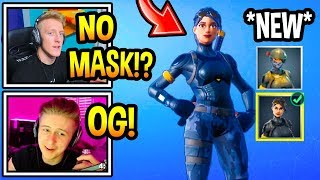 "Streamers GET The 'NEW' ""UNMASKED"" ELITE AGENT Skin Style! (Moments Fortsnite)"