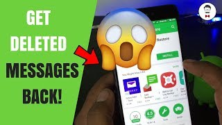 Restore deleted Messages in Android Phone 2017 | Recover OLD deleted SMS on Android