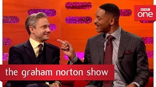Martin Freeman, Will Smith and Dame Helen Mirren on being recognised - The Graham Norton Show 2016
