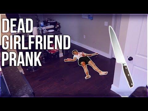 D.E.A.D GIRLFRIEND PRANK ON BOYFRIEND!!