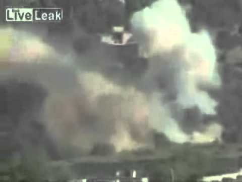 PAF Bombing Runs over Waziristan: RAW footage