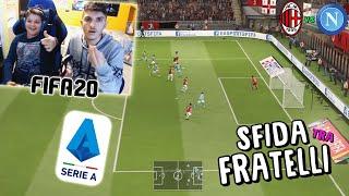 MILAN vs NAPOLI - RICONQUISTARE la SERIE A! - Fifa 20