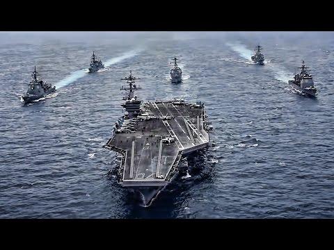 USS Carl Vinson Strike Group Sails Towards North Korea