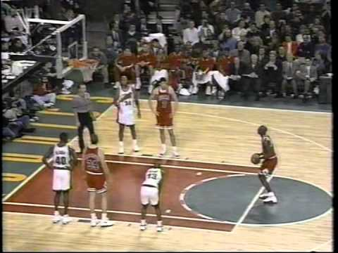 Michael Jordan: 45 Point Game Vs Seattle 1996-97 Regular Season