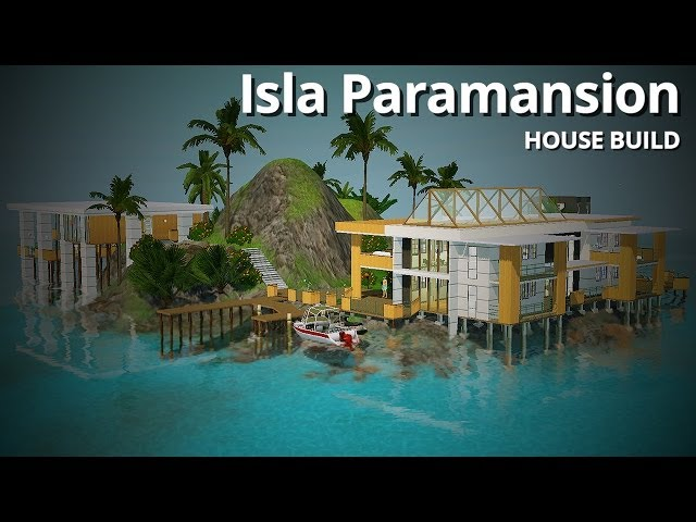 The Sims 3 House Building - Isla Paramansion