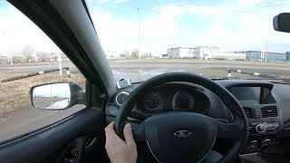 2013 Lada Kalina Pov Test Drive