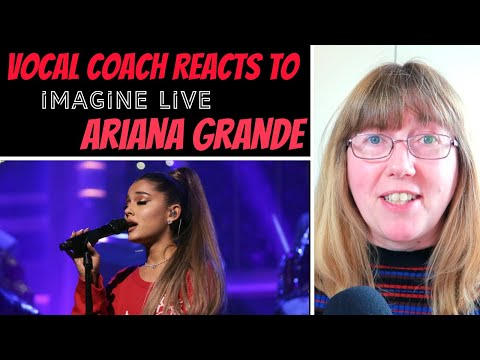 Vocal Coach Reacts to Ariana Grande Imagine  Whistle Tones - or are they?