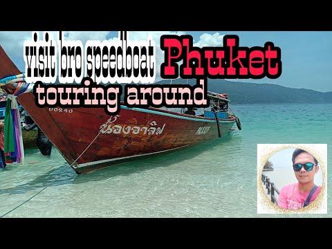 visit bro speedboat and touring around#Phuket#Thailand#kalog'stv travel