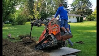 How To Build a Leach Field for Yard Drainage Systems - Episode 2/5