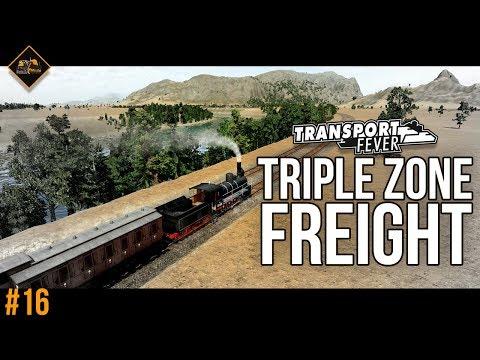 Multi-zone freight distribution   Transport Fever Metropolis #16