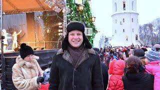 Православное Рождество в Вильнюсе. Часть 1