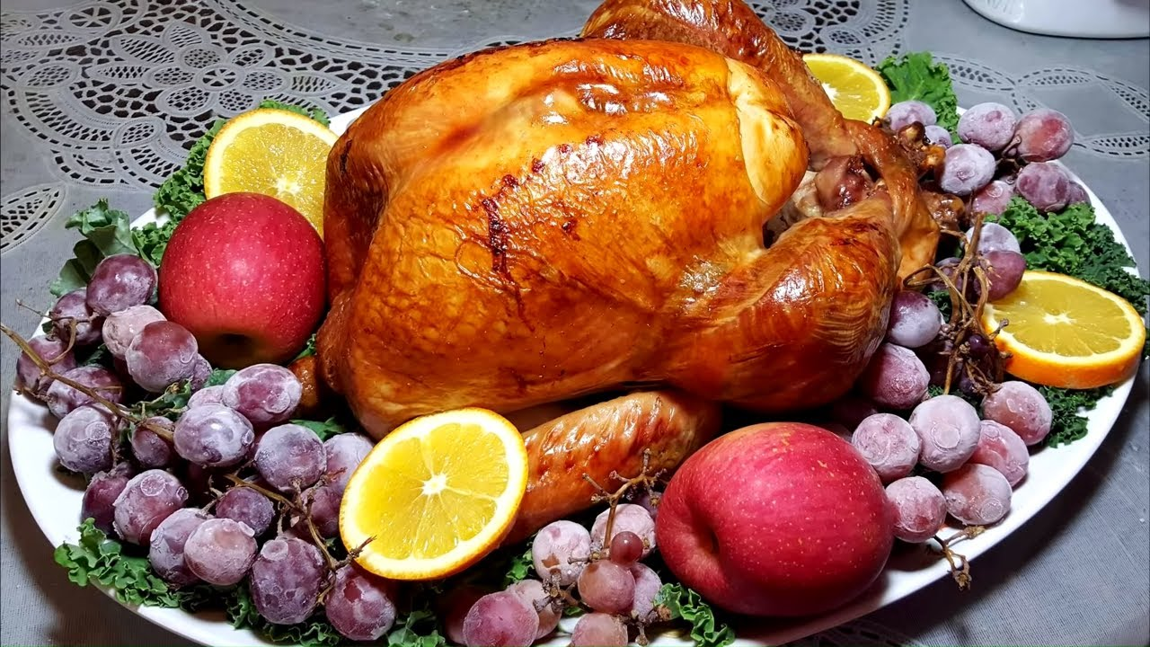 Pavo De Accion De Gracias Thanksgiving Turkey Youtube