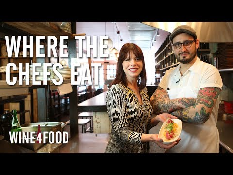 Where the Chefs Eat - Andrew Riccatelli of Terroir Tribeca