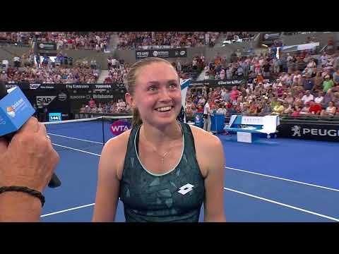 Meet Aliaksandra Sasnovich | Brisbane International 2018