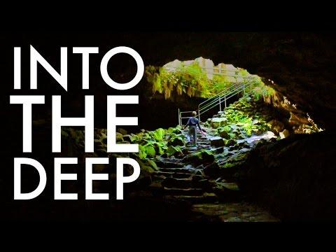 Ape Caves: Lave Tube : Mt St Helens : RV Fulltime w9 kids