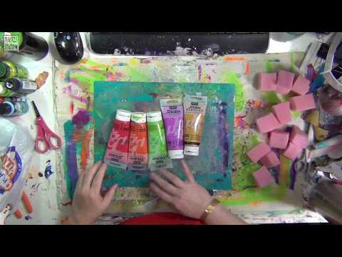 🎥  70 Acres Studio Thusday Live Stream - Painty Papers