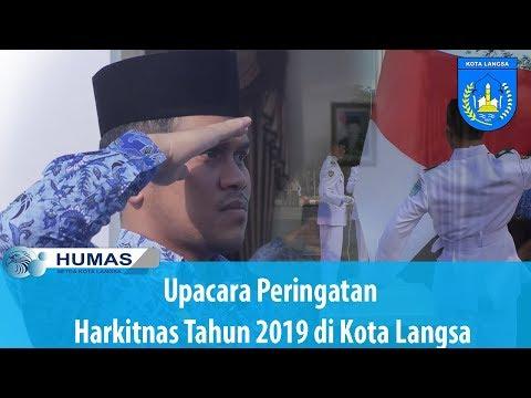Upacara Peringatan Harkitnas Tahun 2019 Di Kota Langsa
