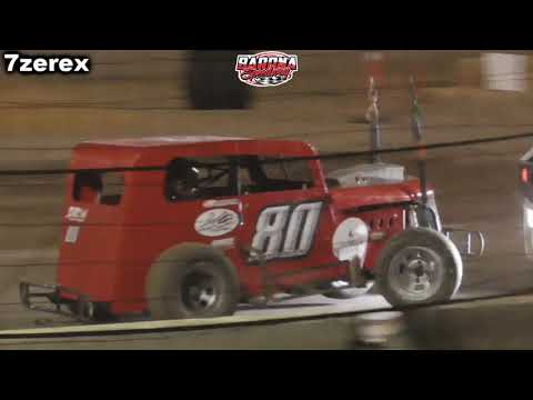 Dwarf Car heat 1 Barona Speedway 11-15-2019