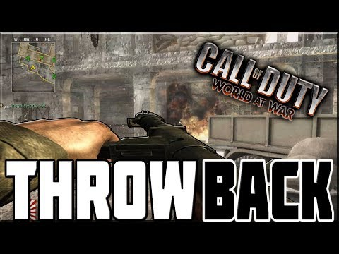 THROWBACK TO CALL OF DUTY WORLD AT WAR!