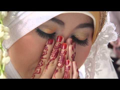 Islah & Hamzah Wedding  Baraka Allahu Lakuma Maher Zain