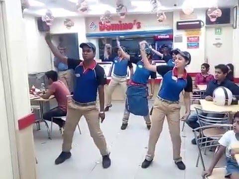 dominos pizza india dance panipat