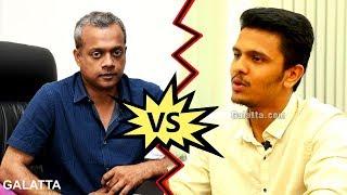 Gautham Menon vs  Karthick Naren | Naragasooran| ENPT | Galatta Mini Bytes