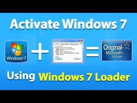 Activate WINDOWS 7  For Free And MAKE GENUINE FOREVER(all Versions)