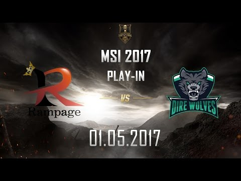 [01.05.2017] RPG vs DW [MSI 2017][Play-in]