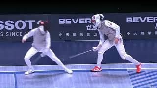 2018 Wuxi World Championships - MF Ind Semifinal KRUSE (GBR) v LLAVADOR (ESP)