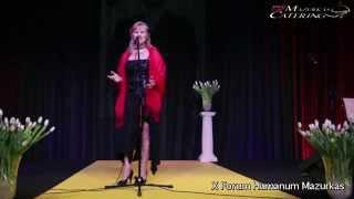 X Forum Humanum Mazurkas - Natalia Kovalenko - Hucułka Ksenia-tango ukraińskie- Hotel Mazurkas
