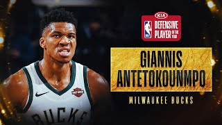 Giannis Antetokounmpo Wins #KiaDPOY | 2019-20 NBA Season