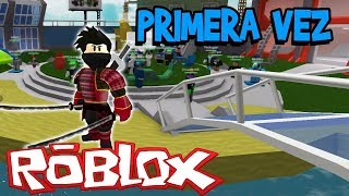 ROBLOX: THE FIRST TIME I PLAY THIS!