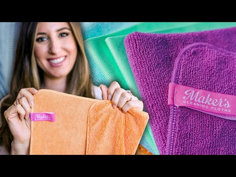 25 Ways To Use Microfiber Cleaning Cloths!