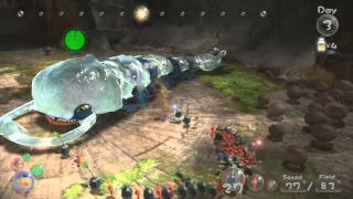 Pikmin 3 Boss Battle 1: Armored Mawdad